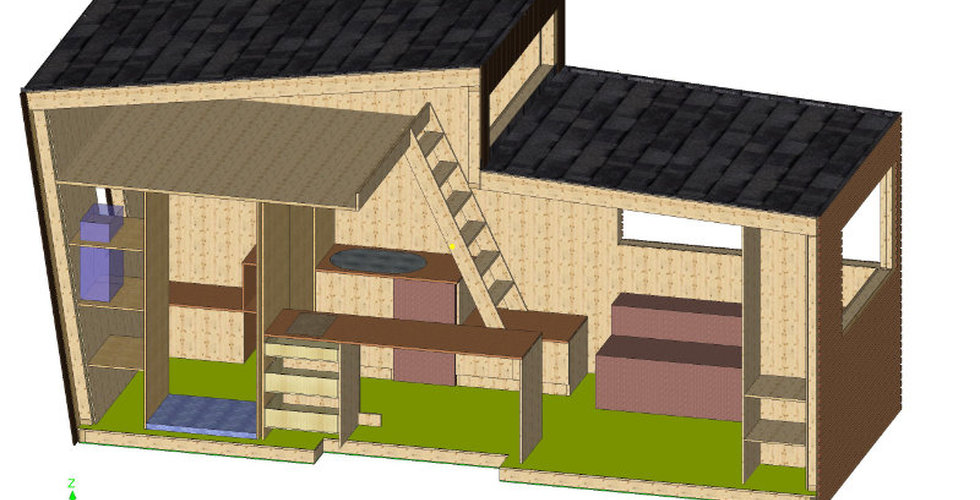 Plan conception Tiny House